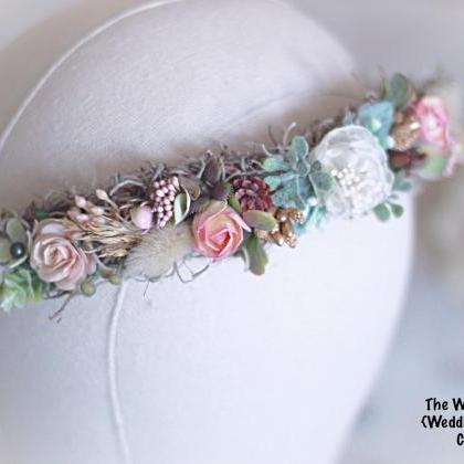 Bridal Hair crown, wedding Accessor..