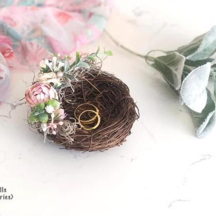 Wedding ring holder,nest ring holde..