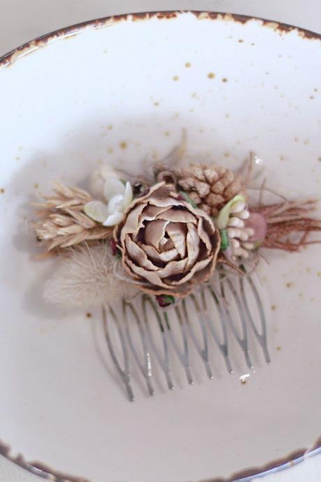 Bridal Hair comb, wedding Accessories, flower hair comb, bridal head piece, flower comb, bridal, wedding