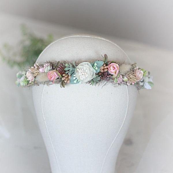 Bridal Hair crown, wedding Accessories, flower crown, hair comb, bridal hair crown, flower comb, bridal crown, wedding crown